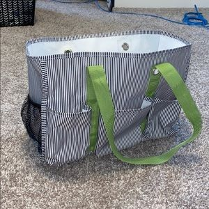 Thirty-One Striped Tote